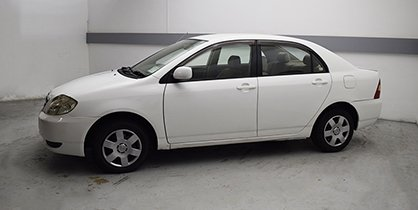 TOYOTA COROLLA (OLD LICENCE)
